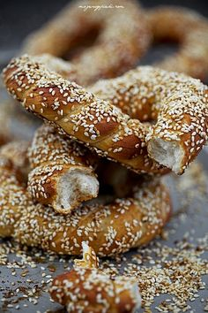 Simit - tureckie bajgle