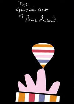 Graphic Art  of Paul Rand (1957) | American Graphic Designer