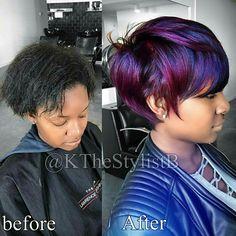 b8494624b0 Love the new color Purple Hair