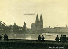 """LZ 129 """"Hindenburg"""" zu Besuch in Köln"""