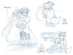 Sailor Scribbles: Stay 02