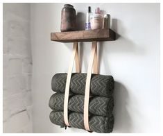 Handtuchhalter DIY Handtuchhalter DIY Handtuchhalter The post DIY Handtuchhalter appeared first on Badezimmer ideen.DIY Handtuchhalter DIY Handtuchhalter The post DIY Handtuchhalter appeared first on Badezimmer ideen. Diy Bathroom, Towel Rack Bathroom, Rental Bathroom, Bathroom Ideas, Towel Holder, Diy Home Improvement, Diy Furniture, Diy Home Decor, Sweet Home