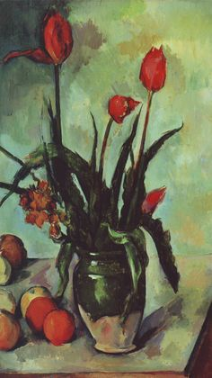 Tulips in a Vase Paul Cezanne Discover the coolest shows in New York at www.artexperience...