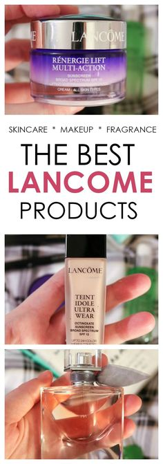 From skincare to makeup and everyday fragrance - meet the BEST Lancome products! : From skincare to makeup and everyday fragrance - meet the BEST Lancome products! Beauty Care, Beauty Makeup, Eye Makeup, Beauty Hacks, Natural Hair Mask, Eyes Lips Face, Sensitive Skin Care, Broad Spectrum Sunscreen, Cream Eyeshadow