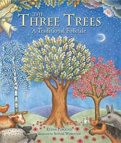 The Three Trees by Elena Pasquali Genre: Christian Children's Picture Book_ 24 Christmas books to read Christian Crafts, Christian Kids, Easter Story, Cross Crafts, Christmas Books, Family Traditions, Book Worms, Childrens Books, Good Books