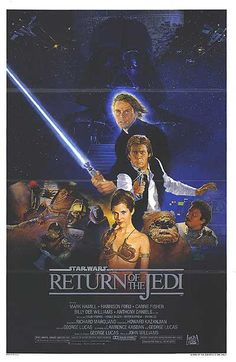 Star Wars Movie Posters - Return of the Jedi