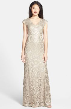 Gold, Taupe, and Neutral Mother of the Bride Dresses