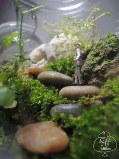 PUFF Hiker  Find us on Facebook :: puff terrariums #puff #terrarium #home #work #sky #decor #decoration #plant #cactus #garden #cat #puppy #wedding #centerpiece #green #moss #gift #DIY #crafts #art #cute #jar #happy #bottle #yolo #lol #hkig