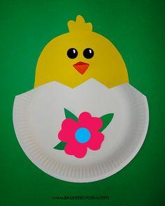 Lavoretti di Pasqua – Pulcino