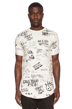Publish Saul Tee in White
