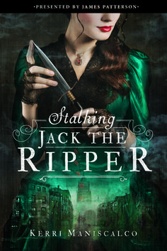 Cover Reveal: Stalking Jack the Ripper by Kerri Maniscalco -On sale September 20th 2016 by Jimmy Patterson -Seventeen-year-old Audrey Rose Wadsworth was born a lord's daughter, with a life of wealth and privilege stretched out before her. But between the social teas and silk dress fittings, she leads a forbidden secret life.