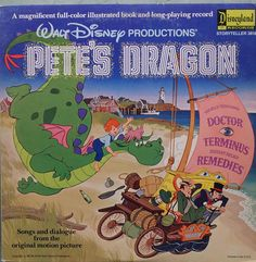 Pete's Dragon Story of The  Walt Disney Productions'