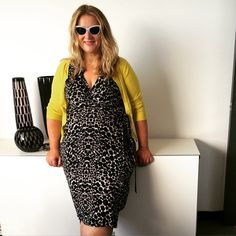 a907bb020ee Anna Scholz in spot jersey wrap dress. Anna Scholz PLUS SIZE ...
