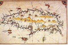 Crete by Piri Reis - Category:Old maps of Crete - Wikimedia Commons