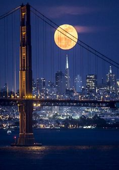 'Moonrise Over San Francisco'