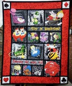 Alice in Wonderland-when i can sew on my machine i am doing this!