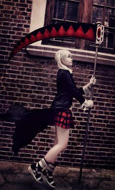 Chikami (芷紙) as Maka Albarn  of SOUL EATER