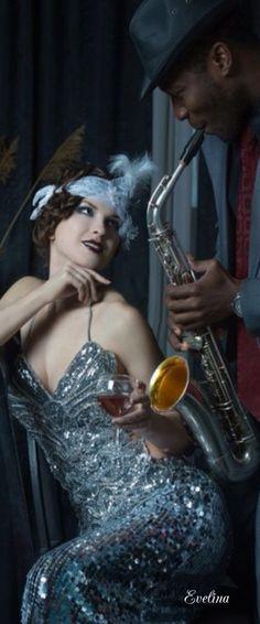 Great Gatsby Fashion, The Great Gatsby, Roaring Twenties, The Twenties, Harlem Nights, Blues, Jazz Club, All That Jazz, Cotton Club