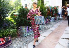 Street Style: Milan Fashion Week Spring 2015 - Marni Dress and Bag