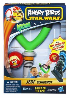 Star Wars Angry Birds Koosh Jedi Slingshot - The Movie Store
