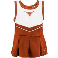 Nike Texas Longhorns Infant Burnt Orange 2-Piece Cheerleader Dress Set