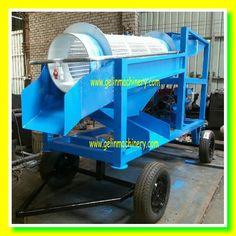 River Gold Mining Equipment / Gold Trommel Washing Plant / Small Gold Machine For Sale $5000~$39000