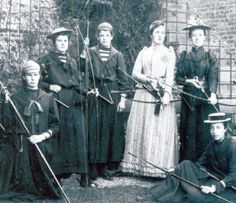 Roedean Girls School Archery - 125 years ago
