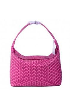 Goyard Fidji Hobo Bag Rose Red