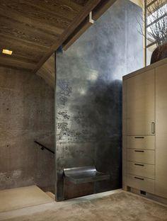 Concrete Interior Wall Tile Design