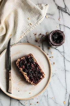 Honey Oat Bread - The subtly of the oats makes this bread perfect for serving with both sweet and savory foods! Honey Oat Bread, Bread Jam, Brunch, Good Food, Yummy Food, Food Combining, Bread Baking, Bread Food, Food Processor Recipes