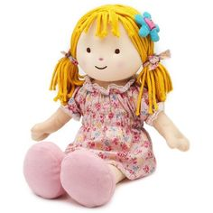Intelex Warmheart Rag Doll, Candy featuring polyvore and toys