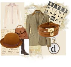 """Lady Edith Style"" by onceuponanovel on Polyvore"