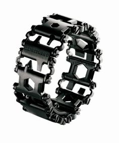 Leatherman Tread Black Bracelet