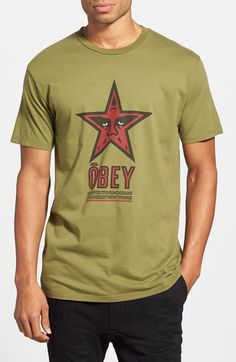 OBEY tees · Obey  Star 96  Graphic T-Shirt available at  Nordstrom ... 93d22a314