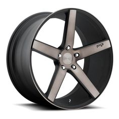"19"" 20"" 22"" Niche Wheels M134 Milan Black Machined Rims *Free Shipping #AudioCity"