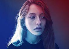 Digital Portraits by Kemi Mai | Inspiration Grid | Design Inspiration