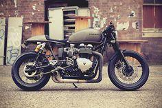 Triumph Thruxton Buster by Mean Machines 1