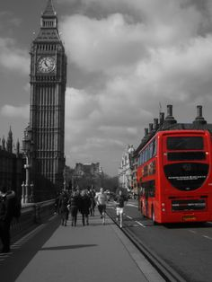 London <3 Have to visit at least once and show off my accent :)