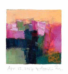 Apr. 12 2014  Original Abstract Oil Painting  by hiroshimatsumoto, $60.00