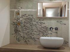 Washable vinyl wallpaper SEA by GLAMORA design PG Architecture