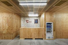 Retro Capsule Hotel in Tokyo Transformed Into Tranquil Oasis Oasis, Sleep Capsule, Screed Floors, Sleeping Pods, Capsule Hotel, Tokyo Hotels, Hotel Amenities, Cafe Shop, Hotel Interiors