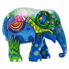 Elephant Parade Webshop - Be part of it! Elephant Herd - All elephants - Olifanten Elephant Walk, Elephant Parade, Elephant Love, Wild Elephant, African Forest Elephant, Asian Elephant, Elephant Information, Elephas Maximus, Elephant Sculpture