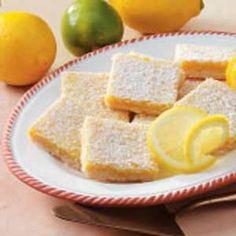 Lemon-Lime Bars Recipe from Taste of Home
