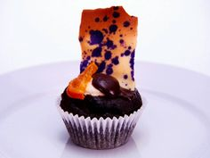 Chocolate Tangerine Cannoli Cupcakes Recipe : Food Network - FoodNetwork.com