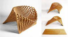Le più originali sedie di design in legno!!