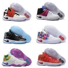 Drop Shipping Wholesale Famous Players Kyrie 2 Mens Sports Basketball Shoes Sneakers Size 7-12