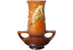 Roseville Freesia Vase, C. 1945 on OneKingsLane.com
