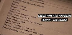 Steve Rogers medical file pre-super-soldier... its like me in a way!