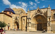 Iglesia arciprestal, Morella. castellón! https://viajerosporespanya.wordpress.com/2015/05/15/morella/