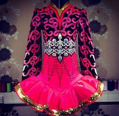 Irish Dance Solo Dress Costume by Celtic Star that belt!